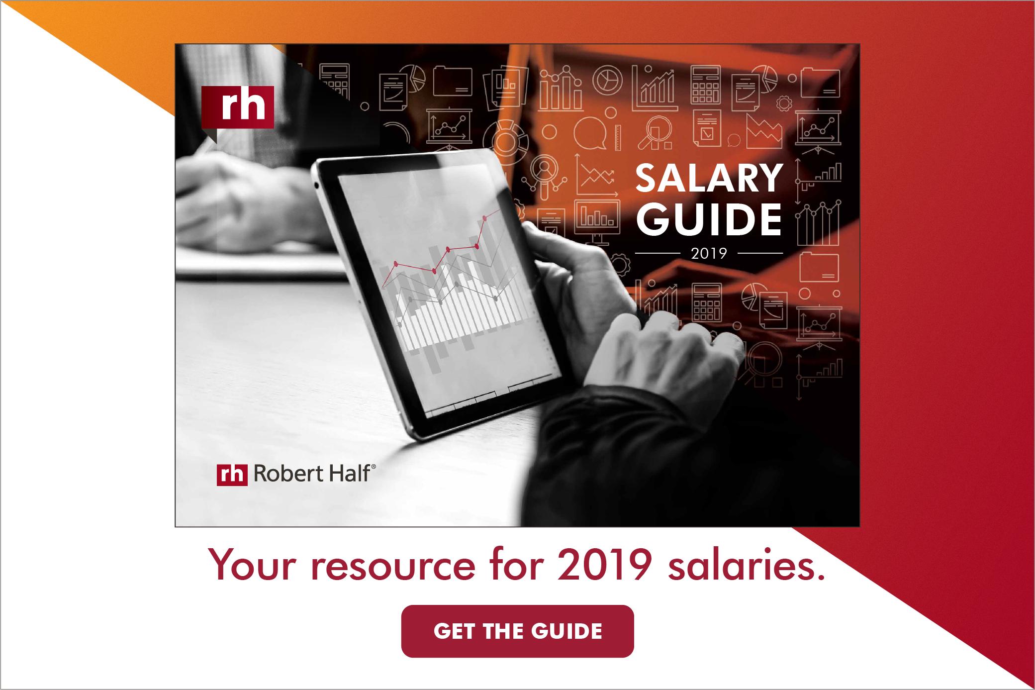 2019 Salary Guide | Robert Half UAE