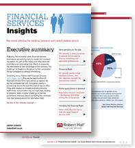 financial service insight report
