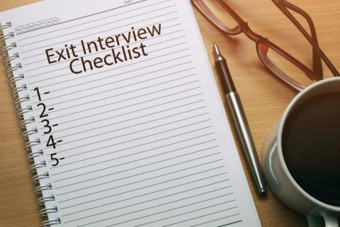 The exit interview checklist