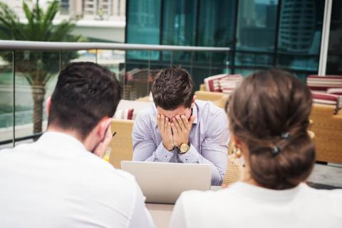 Team faces rising stress levels in the UAE