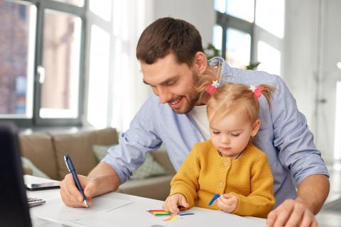 Survival tips for working from home with your kids